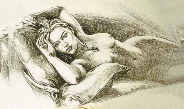 Рисунок, изображающий Роуз (фильм Титаник), был сделан самим Джеймс... » Смешные Анекдоты Истории Цитаты Афоризмы Стишки Картинки прикольные Игры