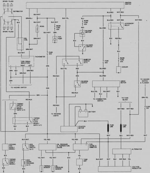 1977 Datsun 280z Wiring Diagram di 2020