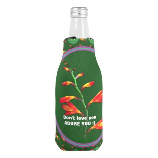 ADORE YOU Koozie Bottle Cooler