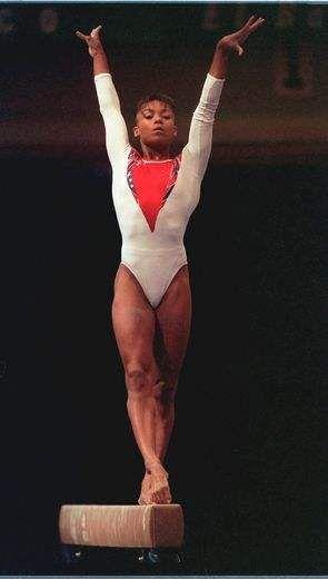 Black Gymnast 83