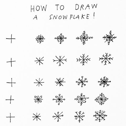 Cant believe a year has passed since i posted this! Here is my little snowflake tutorial again ! ❄️