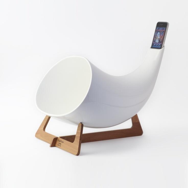 Megaphone White by en $398