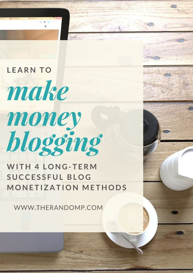 Learn to make money blogging with different blog monetization methods: https://www.therandomp.com/blog/blog-monetization-methods/ Start making your passive income now! #blogging #passiveincome