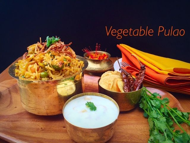 Ribbon's to Pasta's: Vegetable Pulao