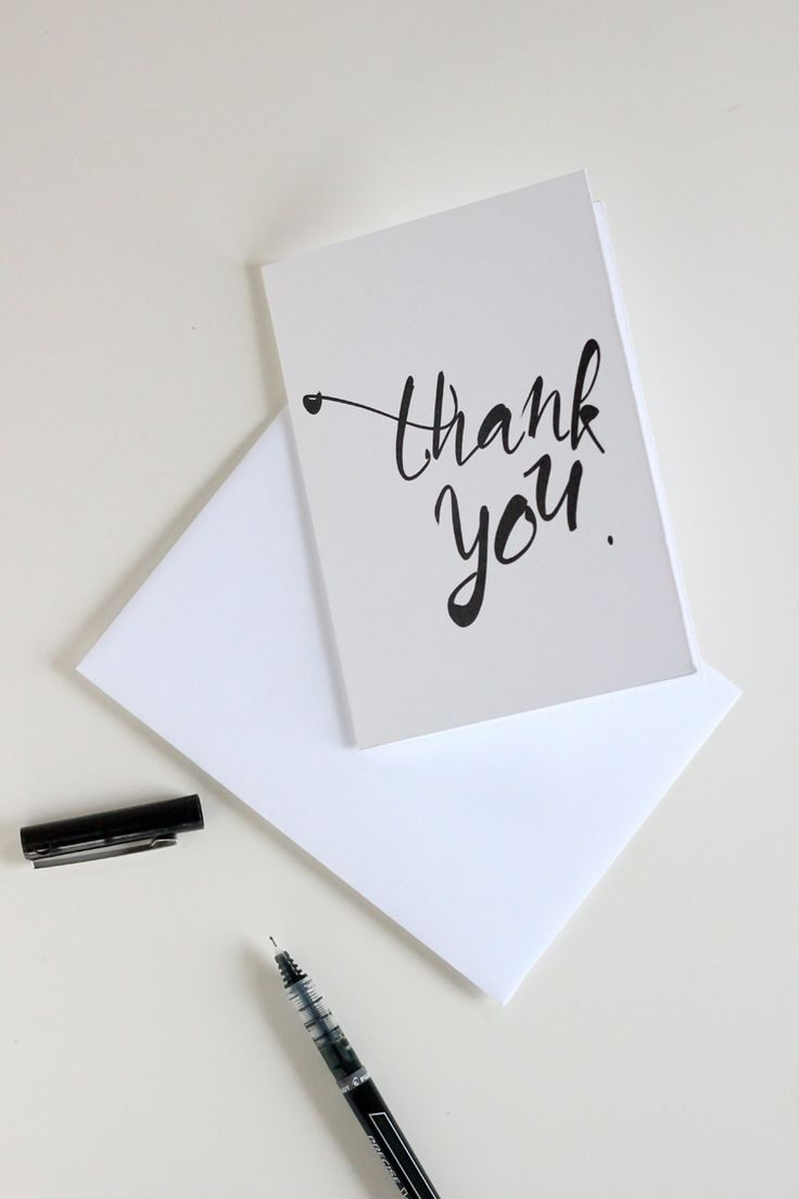 Best 25 Business Thank You Cards ideas – Thank You Card Templates Free Download