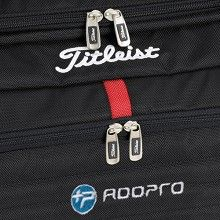 Another example of embroidery on a product this time a duffel bag.