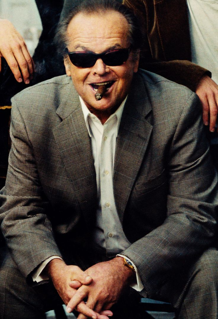 Jack Nicholson on the cover of Vanity Fair's Hollywood Issue, 2003
