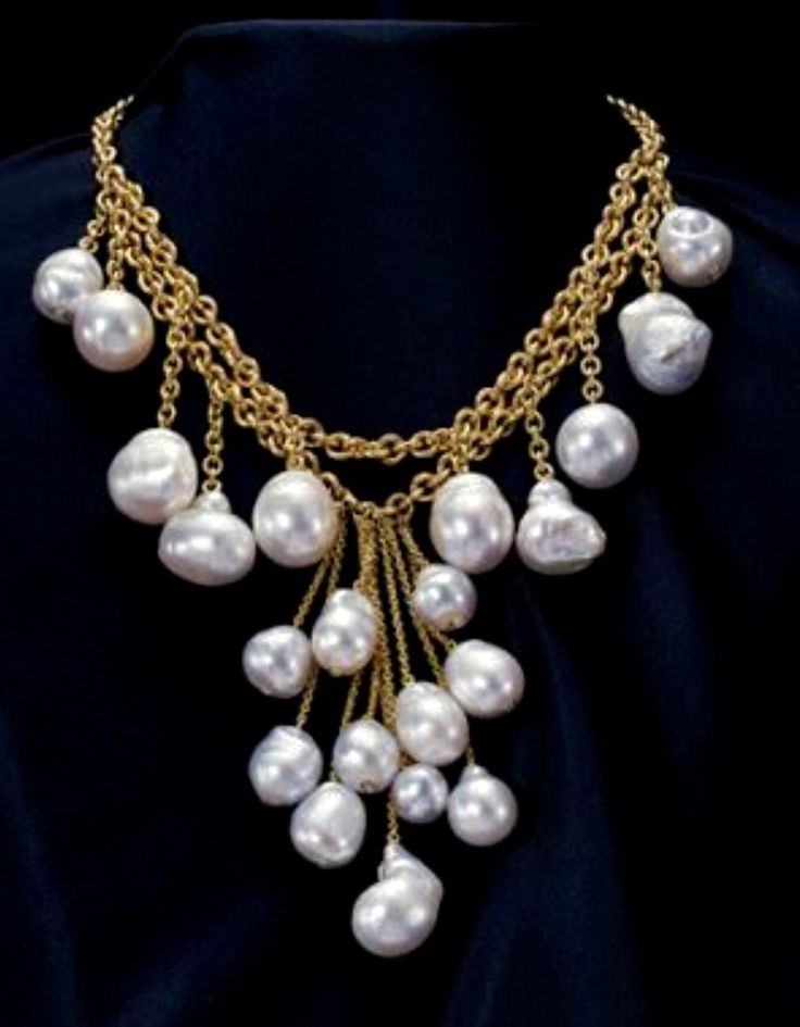 Baroque Pearl Necklace Jewelry Ii Pinterest Baroque