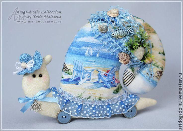 Купить Улитка - тильда - подарок на любой случай, улитка Тильда, украшение для интерьера, подарок