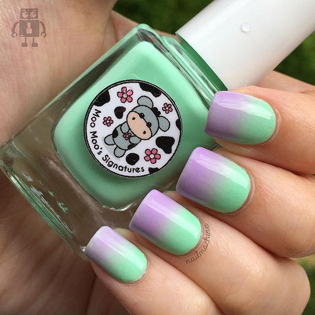 122 best Nail Art: Gradient nails images on Pinterest   Uñas en ...