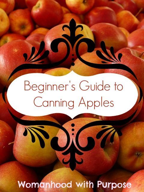 Beginner Guide to Canning Apples