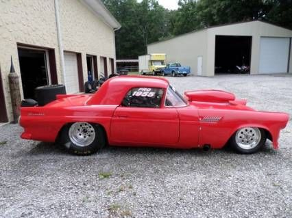 1955 Ford T-Bird Drag Car 460 BB READY TO RACE For Sale ...