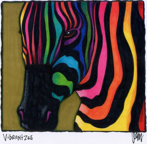Vibrantzee by AEMgallery on Etsy, $29.00