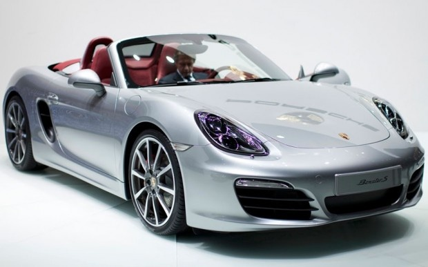 Porsche Boxster S - this will be my next car!