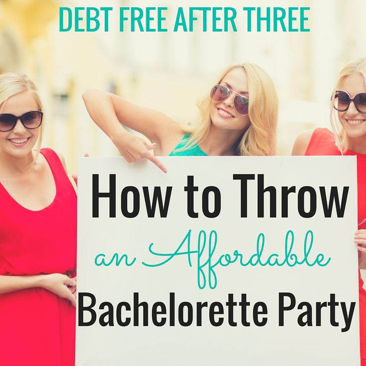 Throwing a bachelorette party? Here's how to do it on a budget! #bacheloretteparty #vipbachelorette