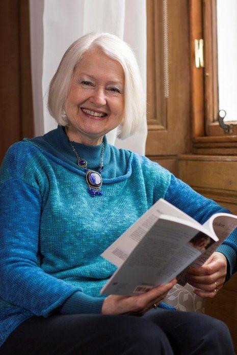 The new Edinburgh Makar, poet and author Christine De Luca.