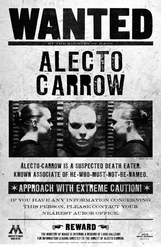 avis de recherche carrow