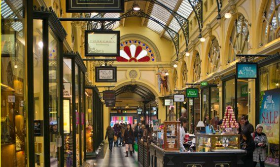 Royal Arcade Melbourne's Living History