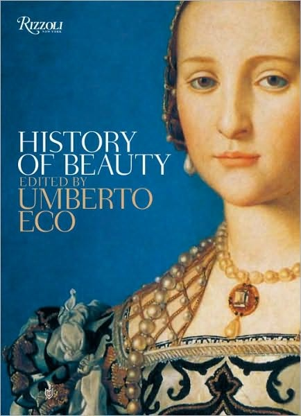 History of Beauty by Umberto Eco. Basically about differences in seeing beauty throughout the history. But pictures of sculptures and prints of painting give the words more sense. :)