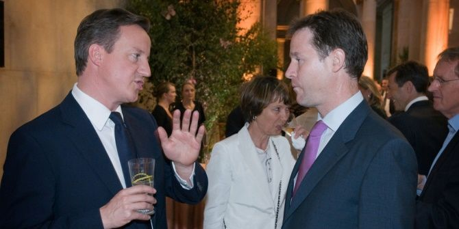 Nick Clegg and British liberalism: revival, betrayal, or repositioning?