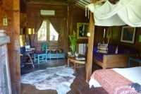 Inside of one of the traditional Balinese/Javenese village houses at the #desaseni #bali