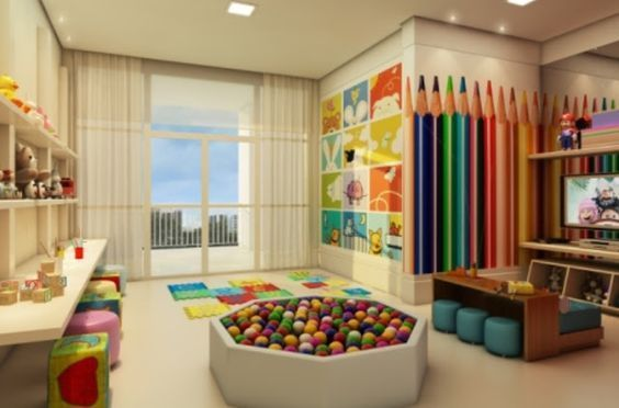 idéias da sala de jogos das meninas   – Home | Playroom