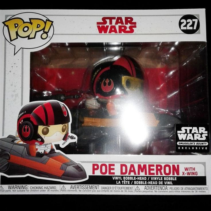 #28 - Poe Dameron with X-Wing [Smuggler's Bounty exclusive]