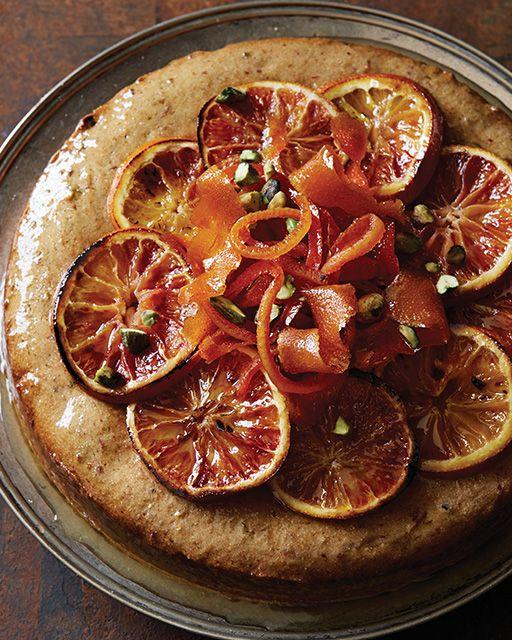 Date & Pistachio Cake with Candied Orange | Recipe ...