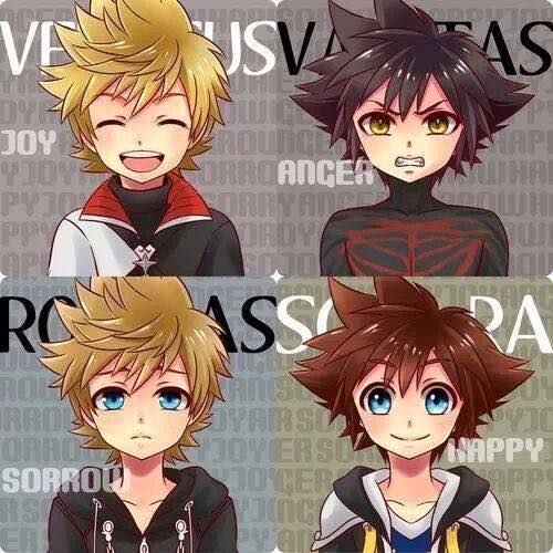 All of Sora (Xion is part of him as well tho) #KingdomHearts