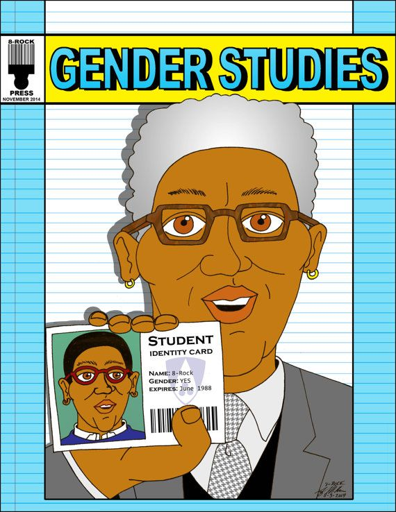 Gender Studies Humorous Autobiographical Zine about by 8RockPress