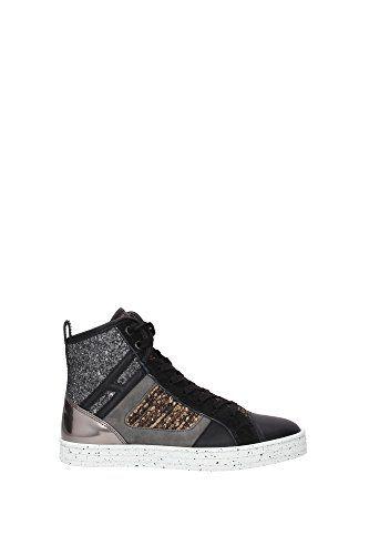 Sneakers Hogan Donna Pelle Nero, Grigio, Marrone e Oro HXW1410S650EKK0BB8 Nero 37EU in OFFERTA su www.kellieshop.com Scarpe, borse, accessori, intimo, gioielli e molto altro.. scopri migliaia di articoli firmati con prezzi in SALDO #kellieshop Seguici su Facebook > https://www.facebook.com/pages/Kellie-Shop/332713936876989