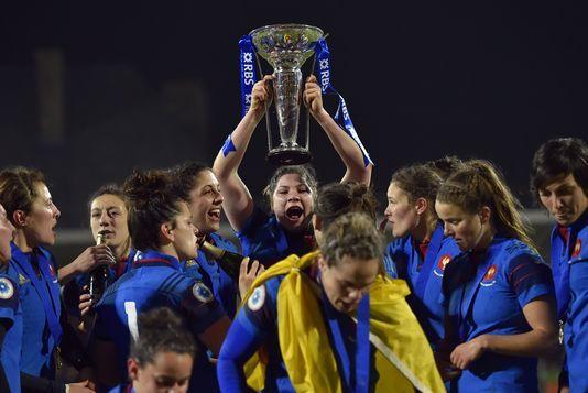 Rugby féminin : la France remporte le tournoi des six nations - Le Monde - 19/03/2016