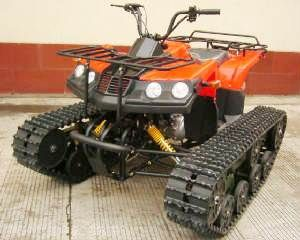 Homemade Tracked Vehicle | ONE OR TWO TRACKS RIGID VEHICLES, LIGHT