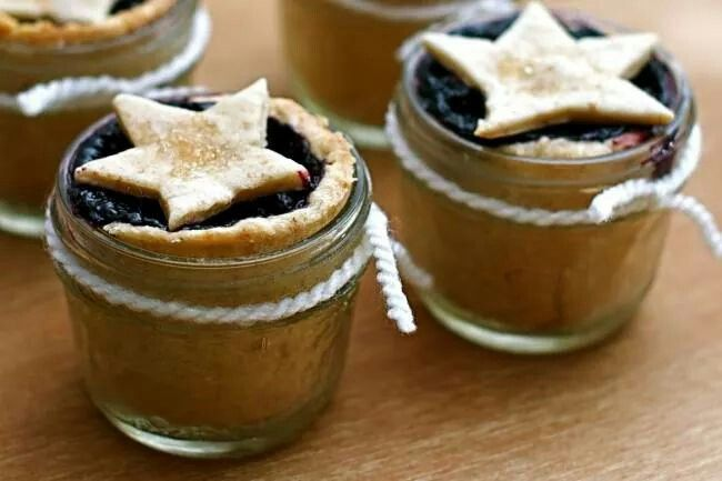 little blueberry pies