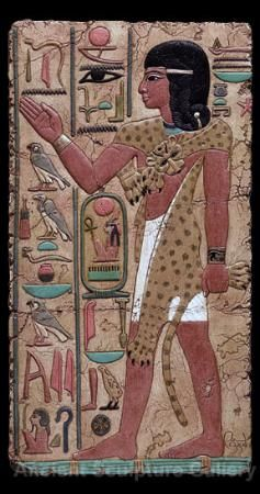 8. Middle Kingdom: Wearing a upper body coering of real animal skin, conveying the power of the animal to the wearer
