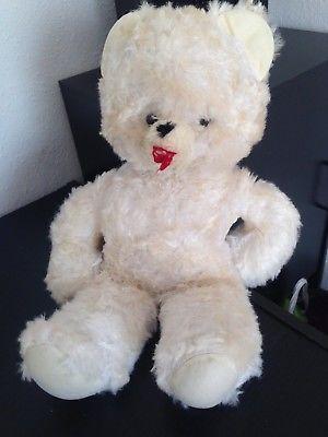 Teddy Old White TimesCaFine anni da Ddr Bear '80 Teddy 0wvmNnO8