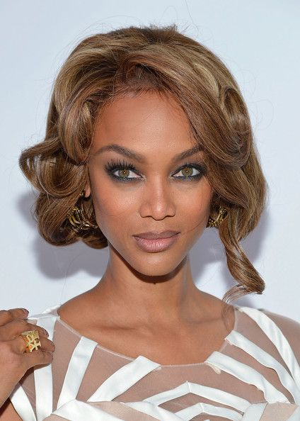 Excellent 1000 Ideas About Tyra Banks Hair On Pinterest Quick Weave Hair Short Hairstyles Gunalazisus