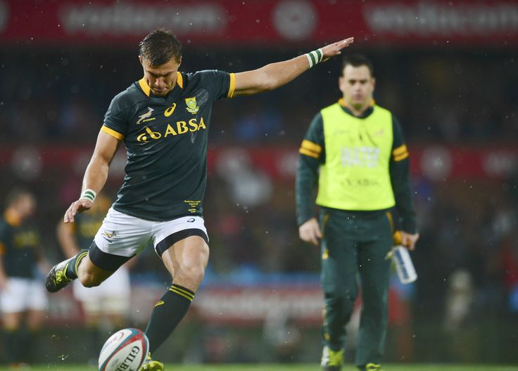 Handre Pollard South African Springbok rugby player