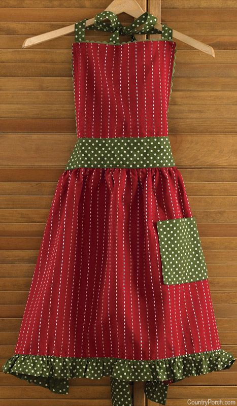 Home for Holidays Apron