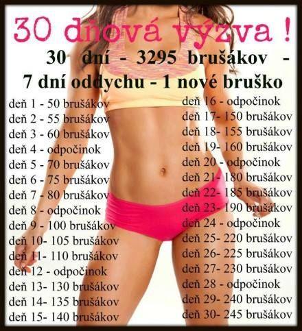30 denní výzva !