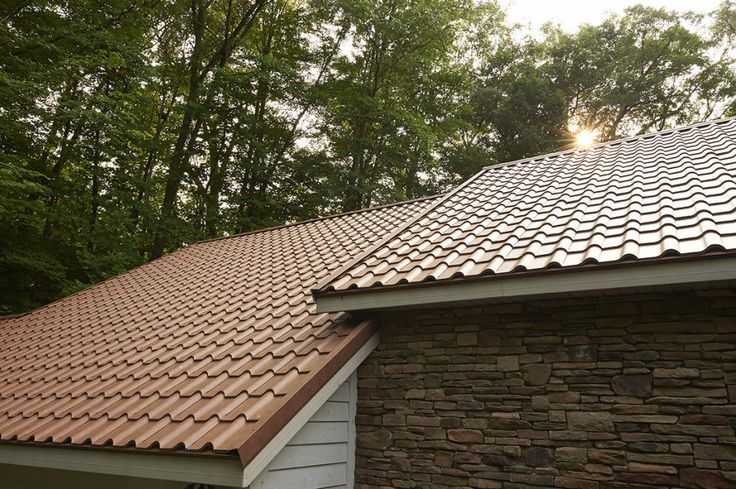 Metal roof tile / ocher / traditional look - WEATHERED SEQUOIA - MATTERHORN METAL ROOFING - Videos