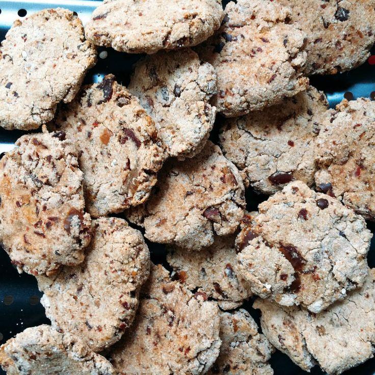 Chocolate-Chip-Cookies – vegan, fettarm und ohne Zucker