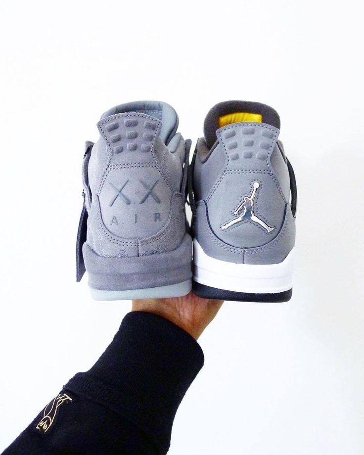 Nike Air Jordan 4 Herren-/ Frauenschuh grau
