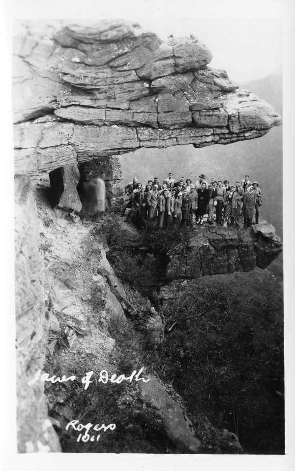 The Jaws of Death, Grampians National Park (1947). State Library of Victoria. They say ignorance is bliss.......