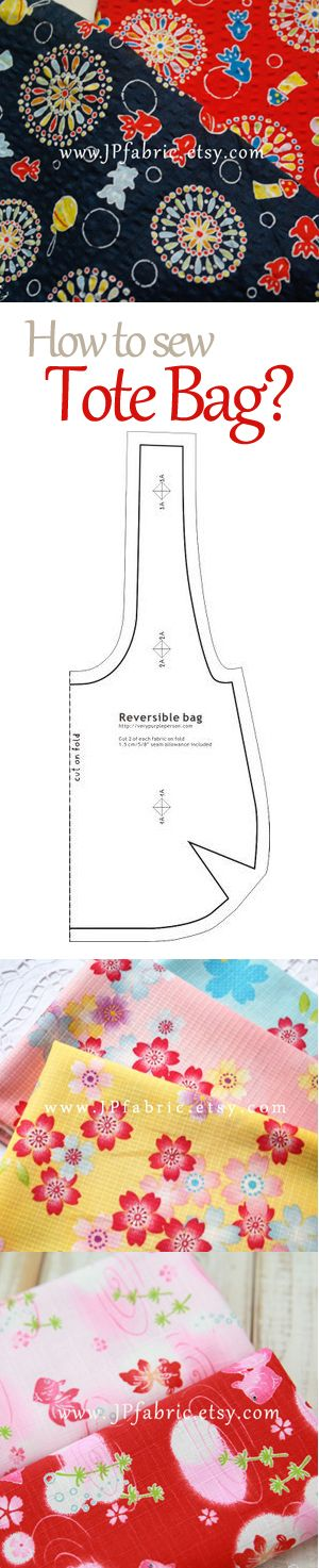 how to sew tote bag? tote bag pattern free.
