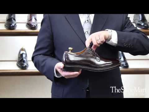 Joe Zapatka from #TheShoeMart shares information about the fitting properties and profile of the #Alden #Barrie Last.    www.TheShoeMart.com #AldenShoes