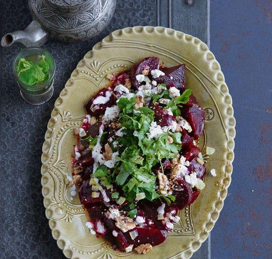 Marinierter Rote-Bete-Salat mit Salzzitronen und Zatar - Rezepte: orientalische Köstlichkeiten - 1 - [ESSEN & TRINKEN]