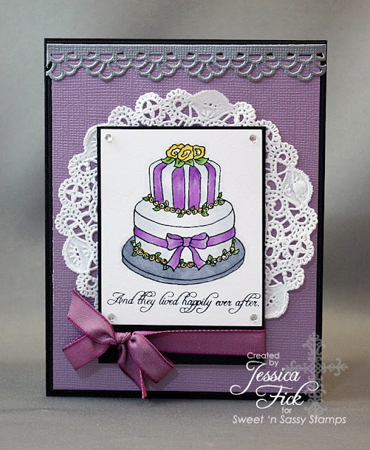 SNSS Wedding Cake Stamp Set SNSS DT Projects Pinterest