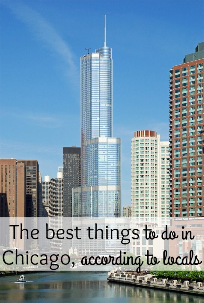 Want to know The best things to do in Chicago, according to locals? Here is a list of places to eat and some fun things to do.