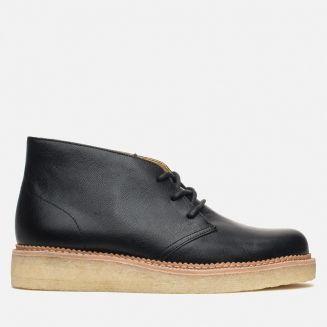 Мужские ботинки Clarks Originals Beckery Hill Black Leather